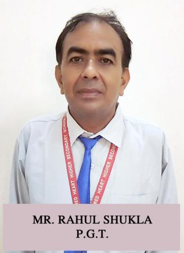 MR. RAHUL SHUKLA