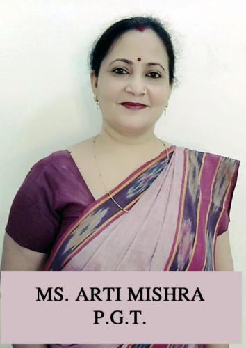 MS. ARTI MISHRA