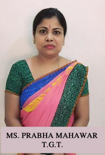 MS. PRABHA MAHAWAR