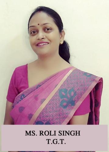 MS. ROLI SINGH