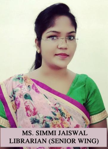 MS. SIMMI JAISWAL