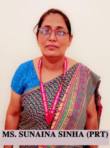 Ms. Sunaina Sinha