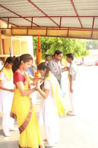 Investiture ceremony In Primary